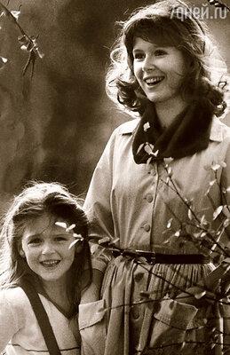 С мамой Евгенией Симоновой