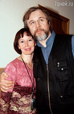 Мама со вторым мужем режиссером Андреем Эшпаем, которого я зову Андреич