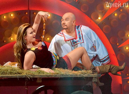 Анна Семенович и Сергей Трофимов