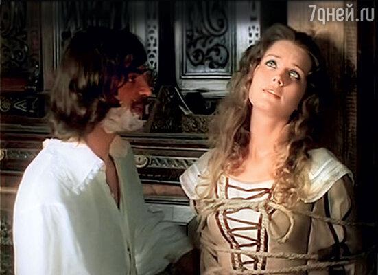 С Михаилом Боярским в фильме «Д'Артаньян и три мушкетера». 1978 г.