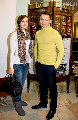 Александр Олешко со своей девушкой Викторией