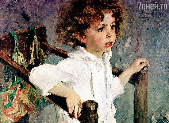 Серов написал настоящий шедевр — маленького Мику Морозова с его широко распахнутыми миру доверчивыми глазами