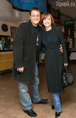 Алексей с актрисой Екатериной Семеновой