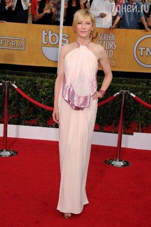 Кейт Бланшетт на 20-й ежегодной церемонии вручения премий Гильдии киноактеров США SAG Awards