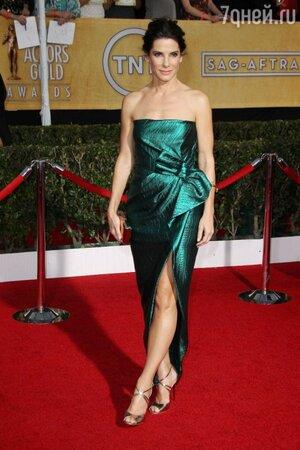 Сандра Буллок на 20-й ежегодной церемонии вручения премий Гильдии киноактеров США SAG Awards