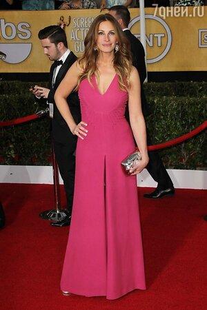 Джулия Робертс на 20-й ежегодной церемонии вручения премий Гильдии киноактеров США SAG Awards