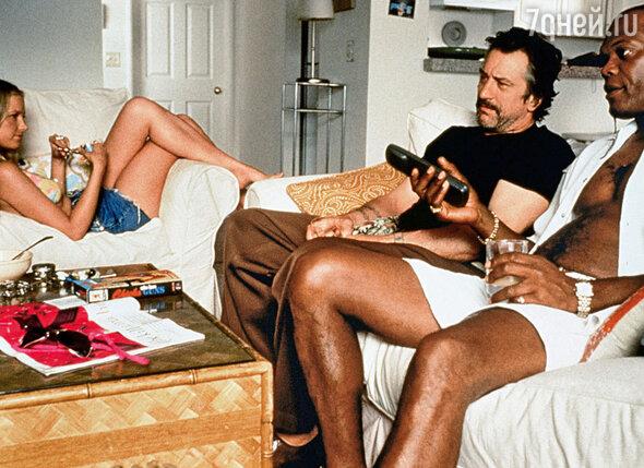 В 1997 году, снимаясь в фильме «Джеки Браун», Джексон влюбился в Бриджит Фонду. (На фото с Фондой и Р. Де Ниро)