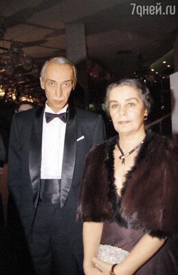 Ольга Заботкина с последним мужем Александром Ивановым