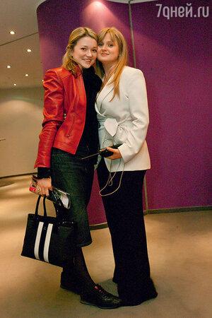 Надя и Анна Михалковы