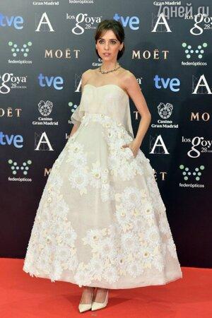 Летисия Долера в платье от Delpozo