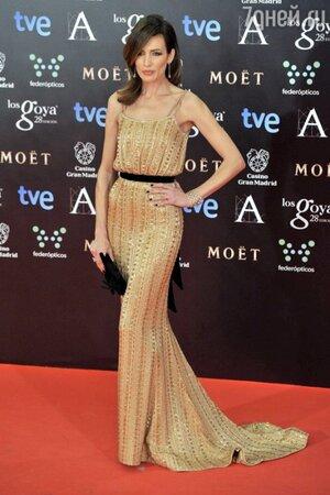 Ньевес Альварес в платье от Ralph & Russo