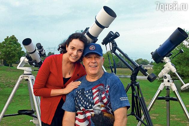 Валерия Ланская с отцом