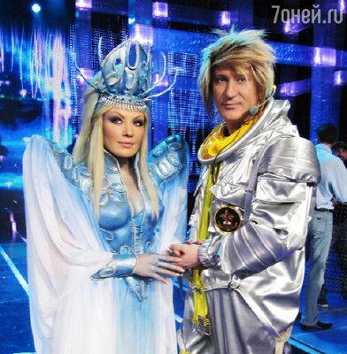 Таисия Повалий и Сергеей Пенкин