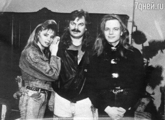 Елена Преснякова с мужем и сыном