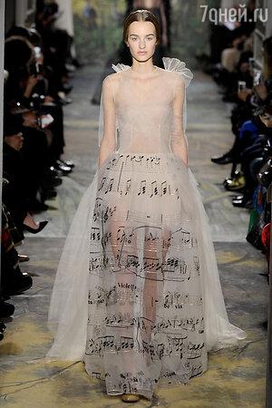 Показ Valentino. Неделя высокой моды в Париже