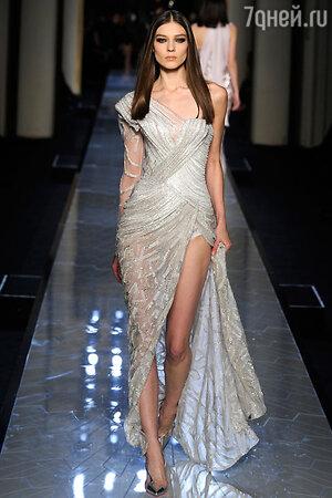 Показ Versace. Неделя высокой моды в Париже