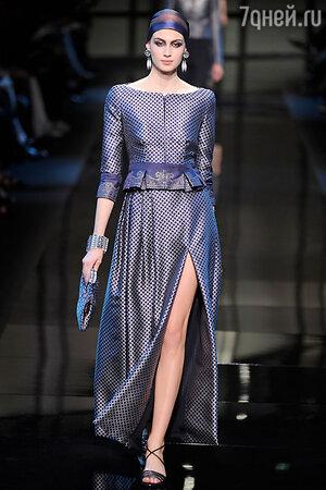 Показ Giorgio Armani Prive. Неделя высокой моды в Париже