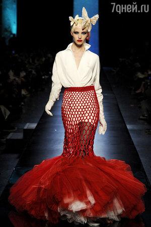 Показ Jean-Paul Gaultier. Неделя высокой моды в Париже