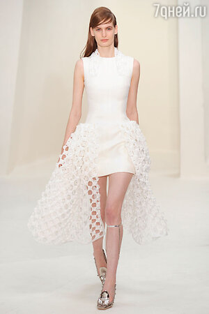 Показ Christian Dior. Неделя высокой моды в Париже