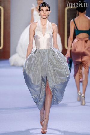 Показ Ulyana Sergeenko. Неделя высокой моды в Париже