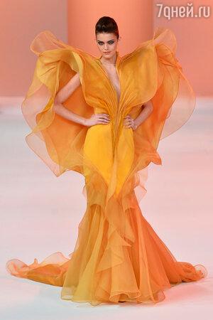Показ Stephane Rolland. Неделя высокой моды в Париже