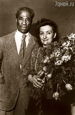 Мои мама и отец приехали в Советский Союз из Америки:  отдельно друг от друга, в разные годы — а встретились в московском интерклубе