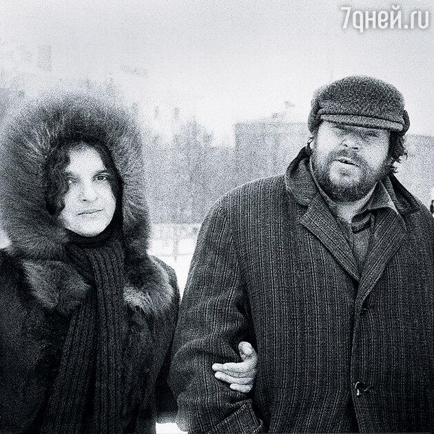 Анатолий Зверев и Наталья Шмелькова
