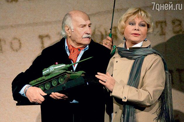 Ольга Богданова и Владимир Зельдин