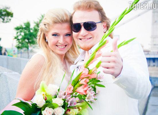 Сергей с женой Марией