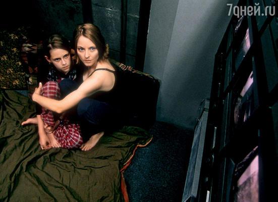 С Джоди Фостер в «Комнате страха»