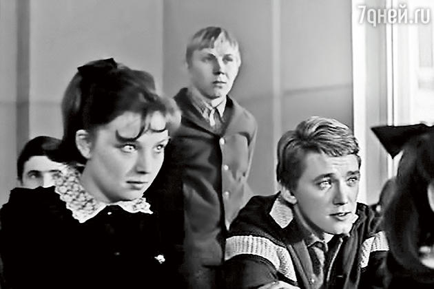 Ольга Остроумова с Игорем Старыгиным. 1968 г.