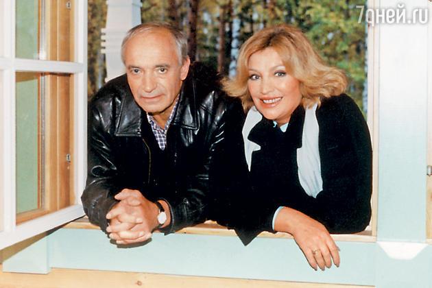 Ольга Остроумова и Валентин Гафт. 2002 г.