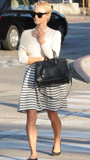 Памела Андерсон со своей новой короткой стрижкой