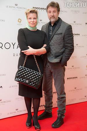 Леонид Ярмольник с супругой Оксаной на Гала-коктейле Art&Wine