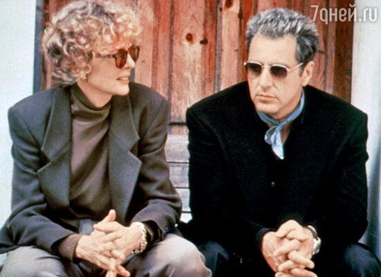 С Аль Пачино на съемках «Крестного отца-3». 1990 г.