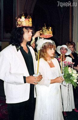 Венчание Филиппа и Аллы в Свято-Троицком соборе, Израиль, Иерусалим