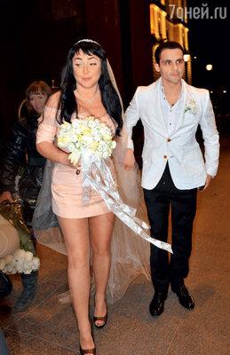 У Лолиты Милявской и Дмитрия Иванова получилась оригинальная свадьба