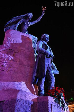 Памятник  поэту Франце Прешерну