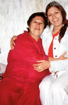 С любимой бабушкой Зоей