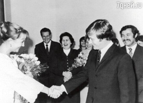 Свадьба Андрея Миронова иЕкатерины Градовой. 1971 г.