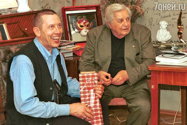 Валерий Золотухин и Юрий Любимов