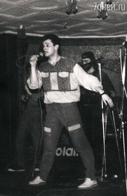 Свою московскую карьеру Вадим начал в варьете гостиничного комплекса «Измайлово». 1985 г.