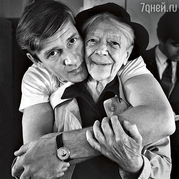 Александр Абдулов и Татьяна Пельтцер