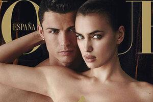 Свадьба скоро: Роналду и Шейк снялись вместе для обложки Vogue