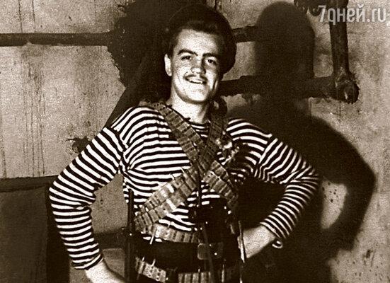 Семнадцатилетний студент Горьковской театральной студии