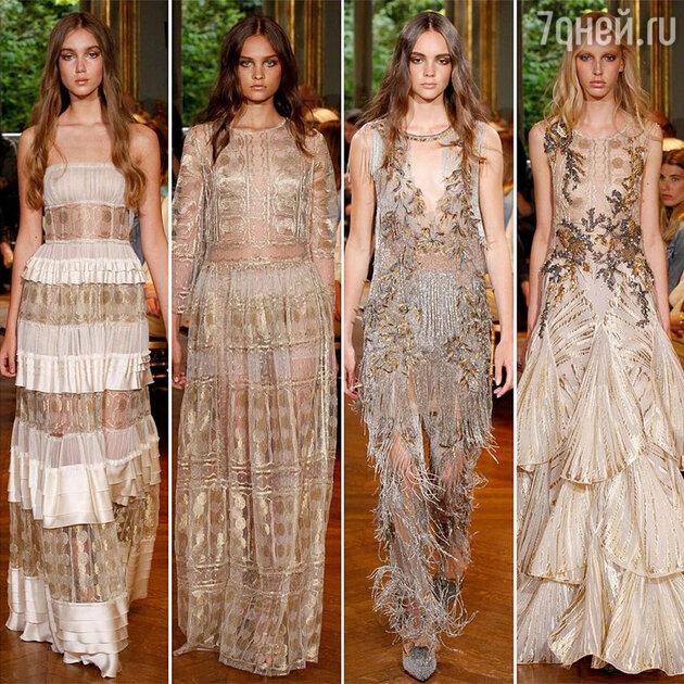 На показе Alberta Ferretti Haute Couture