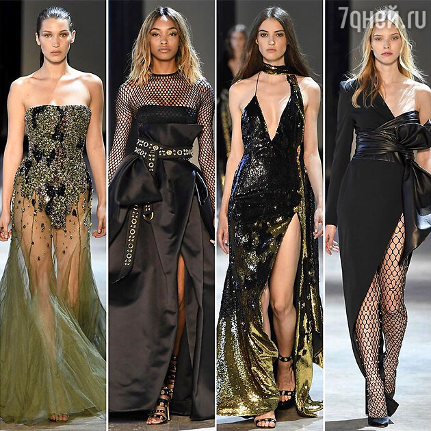 На показе Alexander Vauthier Haute Couture