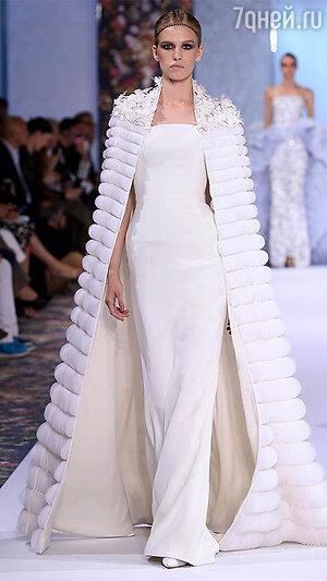 На показе Ralph & Russo Haute Couture в Париже