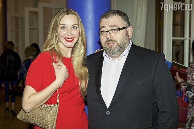 Певица Ирина Ващенко и гендиректор театра Ара Карапетян