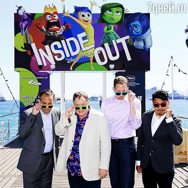 Команда фильма «Inside Out»